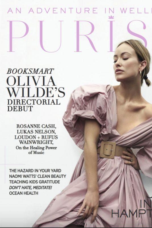 OLIVIA WILDE in Purist Magazine, June 2019