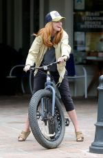 PATSY PALMER Riding a Bike Out in Malibu 05/23/2019