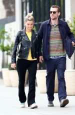 PIXIE GELDOF and George Barnett Out Shopping in West Hollywood 05/07/2019