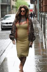 Pregnant JEMMA LUCY at Glow and Blow Boot Camp Get Summer Ready Event in Manchester 05/10/2019
