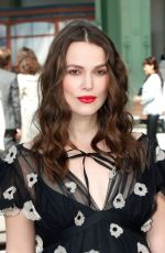 Pregnant KEIRA KNIGHTLEY at Chanel Cruise Collection 2020 Show in Paris 05/03/2019