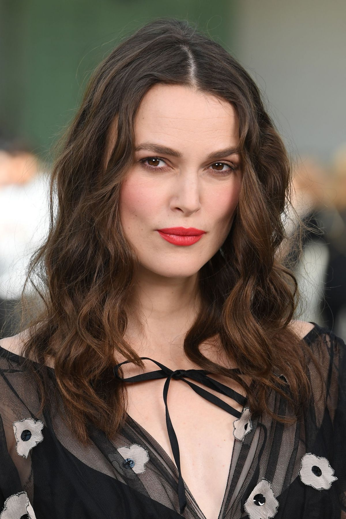 Pregnant KEIRA KNIGHTLEY at Chanel Cruise Collection 2020 ...