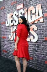 Pregnant KRYSTEN RITTER at Jessica Jones, Season 3 Premiere in Hollywood 05/28/2019