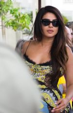 PRIYANKA CHOPRA and Nick Jonas Out in Cannes 05/18/2019