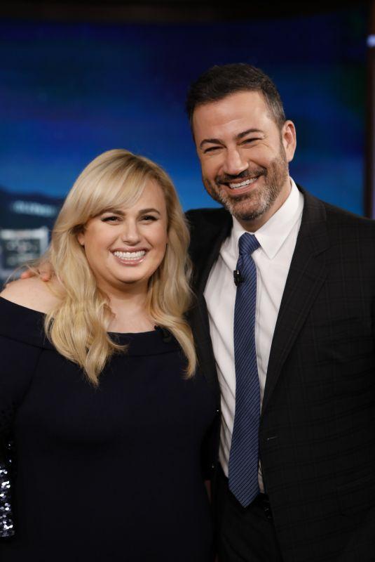 REBEL WILSON at Jimmy Kimmel Live 05/08/2019