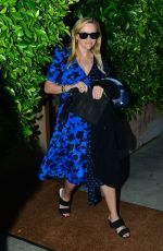 REESE WITHERSPOON Out for Dinnre in Santa Monica 05/12/2019