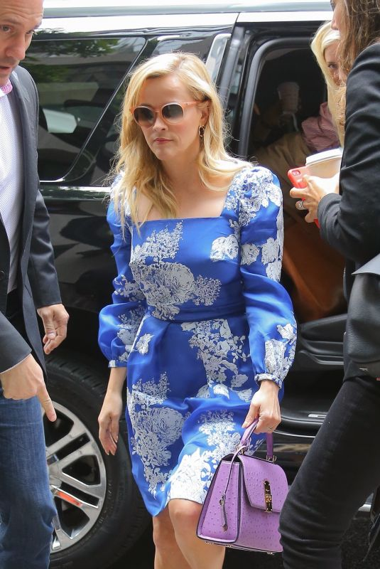 REESE WITHERSPOON Out in nyc New York 05/29/2019