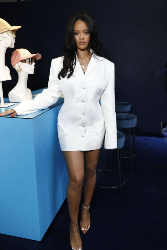 RIHANNA at Fenty Luxury Pop up Launch in Paris 05/22/2019