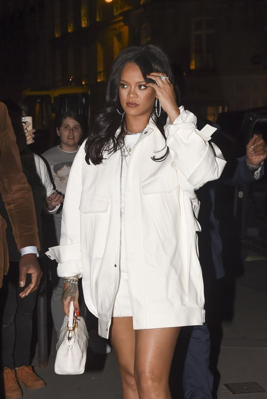 RIHANNA at L'Avenue in Paris 05/22/2019