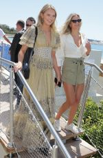 ROMEE STRIJD Leaves Hotel Martinez at 2019 Cannes Film Festival 05/15/2019