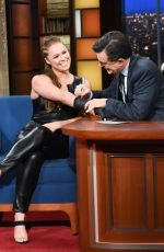 RONDA ROUSEY at Late Show with Stephen Colbert in New York 05/03/2019