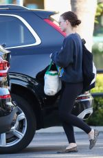 ROONEY MARA Arrives at Gelson