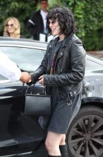 RUMER WILLIS Out on Melrose Place in West Hollywood 05/17/2019