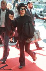 SALMA HAYEK Arrives at Mark Hotel in New York 05/06/2019