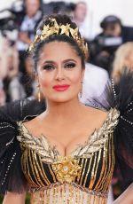 SALMA HAYEK at 2019 MET Gala in New York 05/06/2019