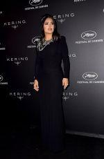 SALMA HAYEK at Kering Women in Motion Awards at Cannes Film Festival 05/19/2019