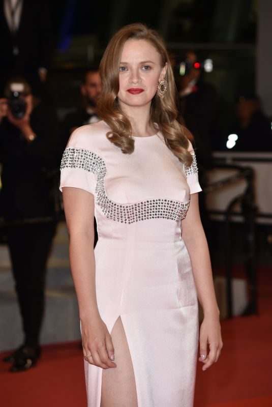 SARA FORESTIER at Mektoub My Love Premiere at 72nd Cannes Film Festival 05/23/2019