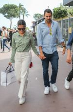 SARA SAMPAIO and Oliver Ripley Out at Cannes Film Festival 05/22/2019