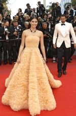 SARA SAMPAIO at Once Upon a Time in Hollywood Screening at Cannes Film Festival 05/21/2019