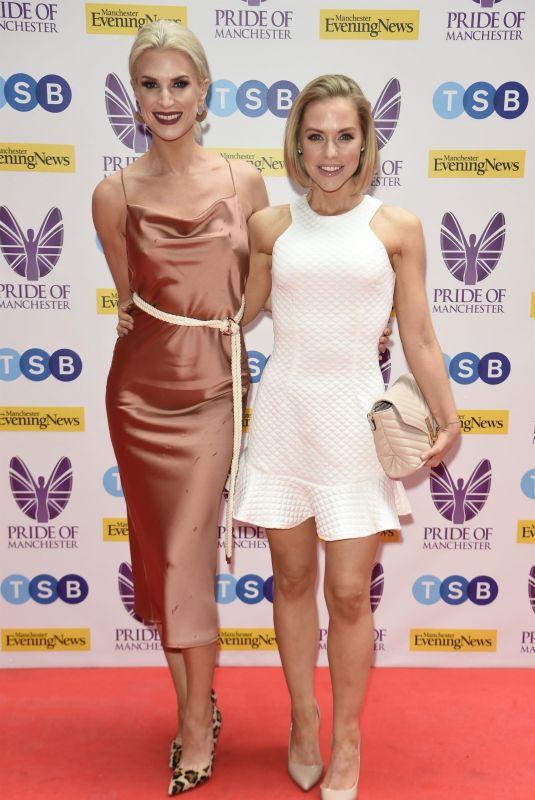 SARAH JAYNE DUNN and STEPHANIE WARING at Pride of Manchester Awards 2019 05/08/2019