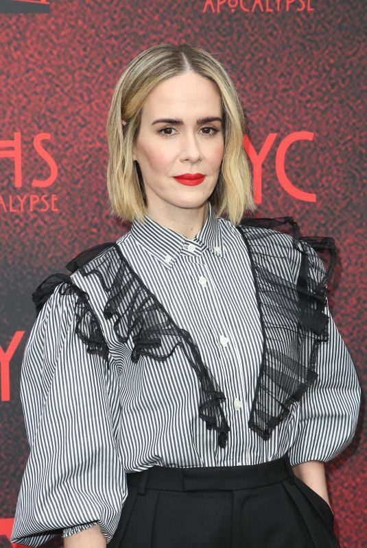 SARAH PAULSON at American Horror Story: Apocalypse FYC Event in Los Angeles 05/18/2019