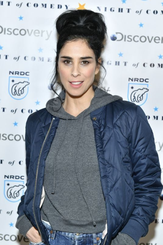 SARAH SILVERMAN at Night of Comedy Benefit in New York 04/30/2019