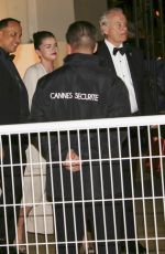 SELENA GOMEZ and Bill Murray Leaves Agora Restaurant in Cannes 05/14/2019
