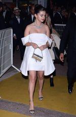 SELENA GOMEZ Arrives at 72nd Cannes Film Festival Gala Dinner 05/14/2019