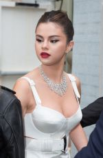 SELENA GOMEZ out at Cannes Film Festival 05/14/2019