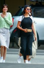 SELENA GOMEZ Out for Lunch at Ttortino