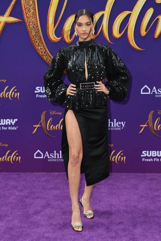 SHANINA SHAIK at Aladdin Premiere in Los Angeles 05/21/2019