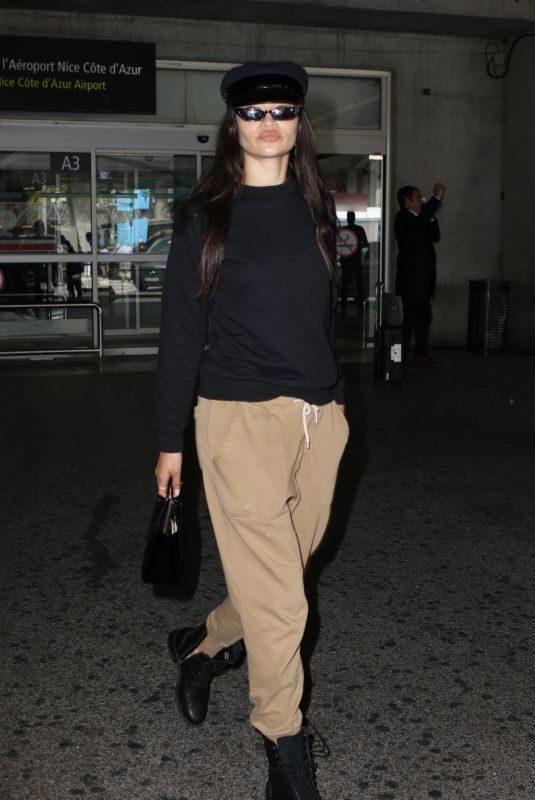 SHANINA SHAIK at Nice Airport 05/23/2019