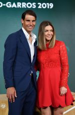 SIMONA HALEP at Drawing of 2019 French Open at Roland Garros in Paris 05/23/2019