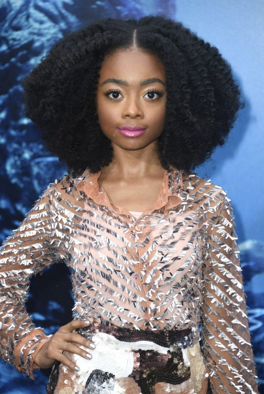 SKAI JACKSON at Godzilla: King of the Monsters Premiere in Hollywood 05/18/2019