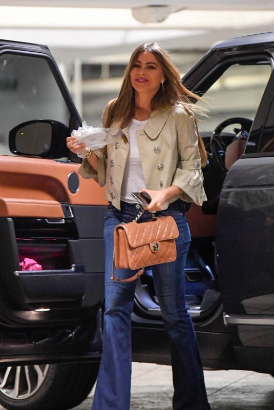SOFIA VERGARA Arrives at Her Office in Beverly Hills 05/21/2019