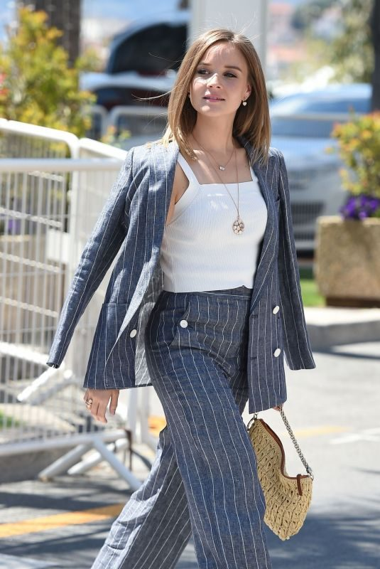 SONJA GERHARDT Arrives at Hotel Martinez in Cannes 05/14/2019