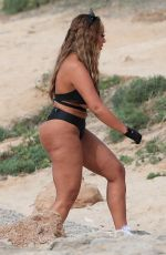 SOPHIE KASAEI on the Set of a Photoshoot in Ibiza 05/23/2019
