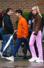 SOPHIE TURNER and Joe Jonas Out in New York 05/05/2019