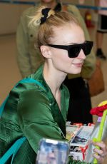 SOPHIE TURNER at Incheon International Airport in Seoul 05/26/2019