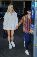 SOPHIE TURNER, PRIYANKA CHOPRA and Nick and Joe Jonas Out in New York 05/10/2019