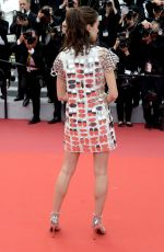 STACY MARTIN at Oh Mercy! Premiere at 2019 Cannes Film Festival 05/22/2019