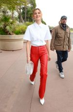 STEFANIE GIESINGER Out at Cannes Film Festival 05/18/2019