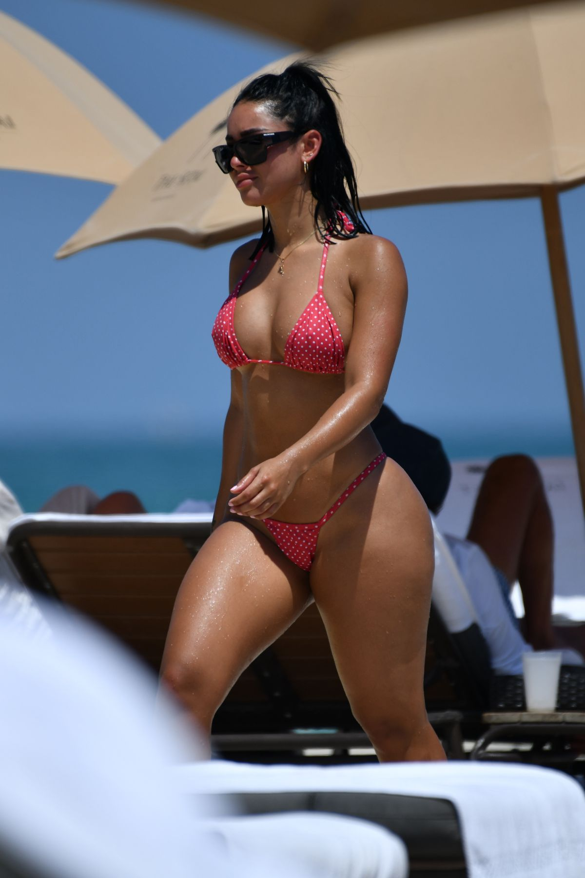 STEPHANIE RAO in Bikini at a Beach in Miami 04/27/2019 – HawtCelebs