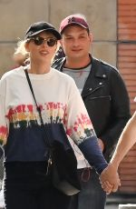 TAYLOR SWIFT and Joe Alwyn Out in Paris 05/24/2019