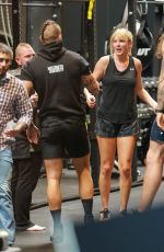 TAYLOR SWIFT at Dogpound Gym in West Hollywood 05/31/2019