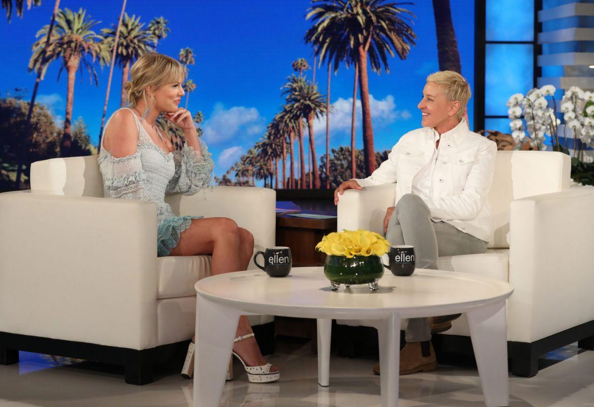 Taylor Swift At Ellen Degeneres Show In Burbank 05 15 2019