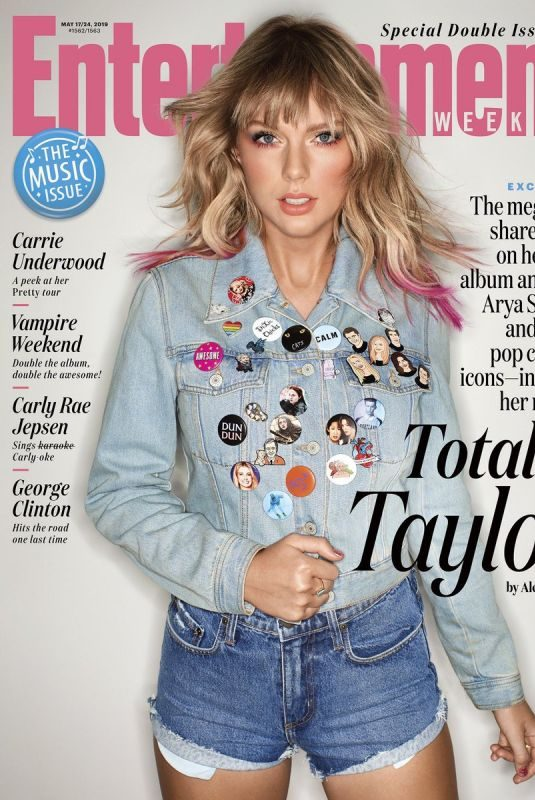 TAYLOR SWIFT in Entertainment Weekly, May 2019