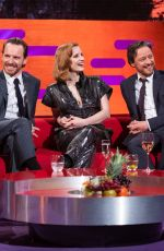 TAYLOR SWIFT, SOPHIE TURNER and JESSICA CHASTAIN at Graham Norton Show in London 05/23/2019