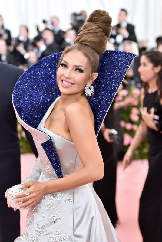 THALIA at 2019 MET Gala in New York 05/06/2019