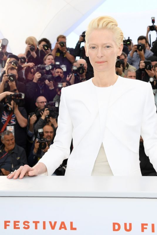 TILDA SWINTON at The Dead Don't Die Photocall in Cannes 05/15/2019